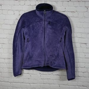 Women's Patagonia Purple Insulated Fleece S